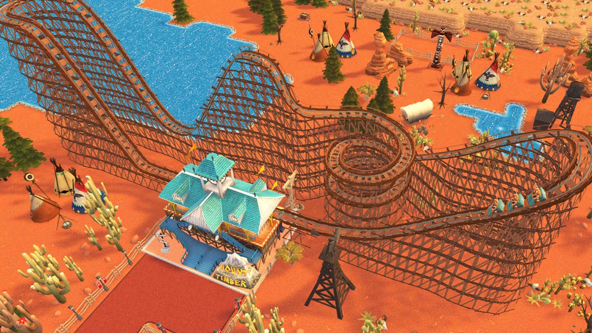 RollerCoaster Tycoon Adventures - Five Star Games